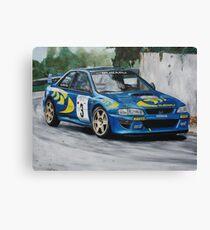 Colin McRae Subaru Impretza Canvas Print