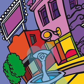 City Scene 1 by Stibbo