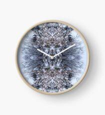 Snow Bow #5 Clock