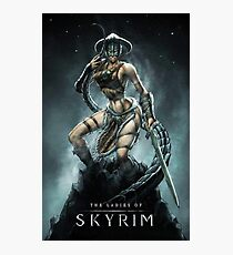 Skyrim Lady  Photographic Print