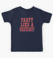 Party Like A Patriot! Kids Clothes