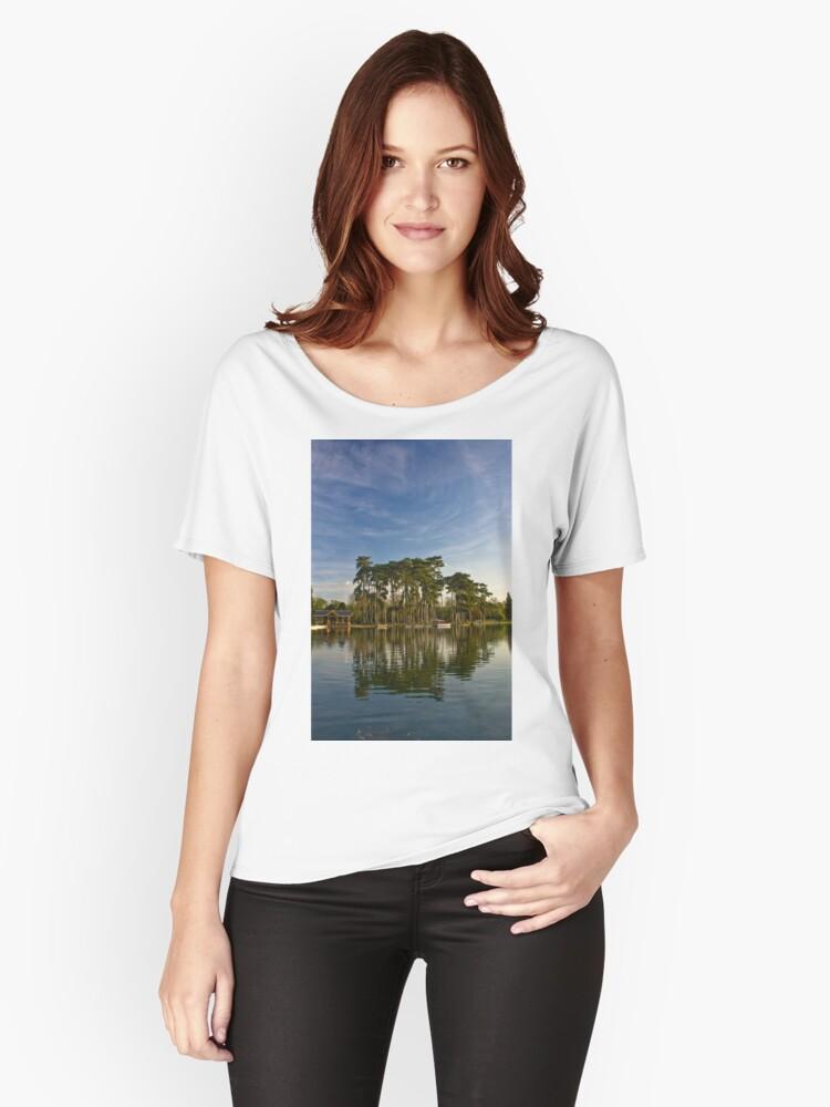 Bois de Boulogne Women's Relaxed Fit T-Shirt Front