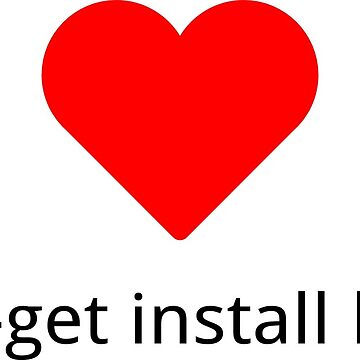 atp-get install love red by cosito