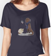 animalock Women's Relaxed Fit T-Shirt
