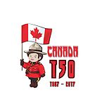 Canada 150 Years Anniversary by SpiceTree