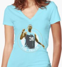 The Truth  Women's Fitted V-Neck T-Shirt