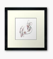 Feel Embraced Framed Print
