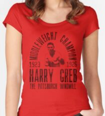 Harry Greb Women's Fitted Scoop T-Shirt