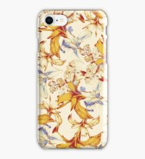 Irisses & Coriander Pattern iPhone Case/Skin