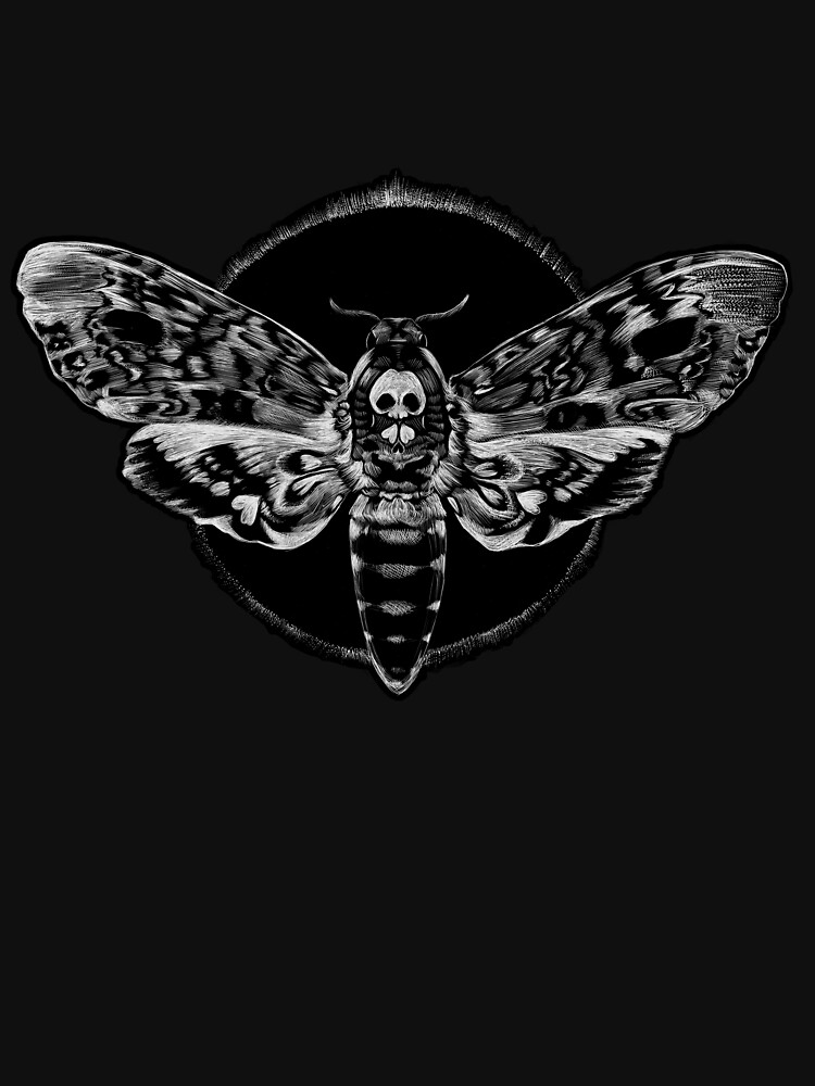 Death's-head Hawkmoth by lauriepigeon