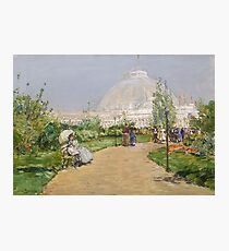 Childe Hassam - Horticulture Building, World S Columbian Exposition, Chicago Photographic Print