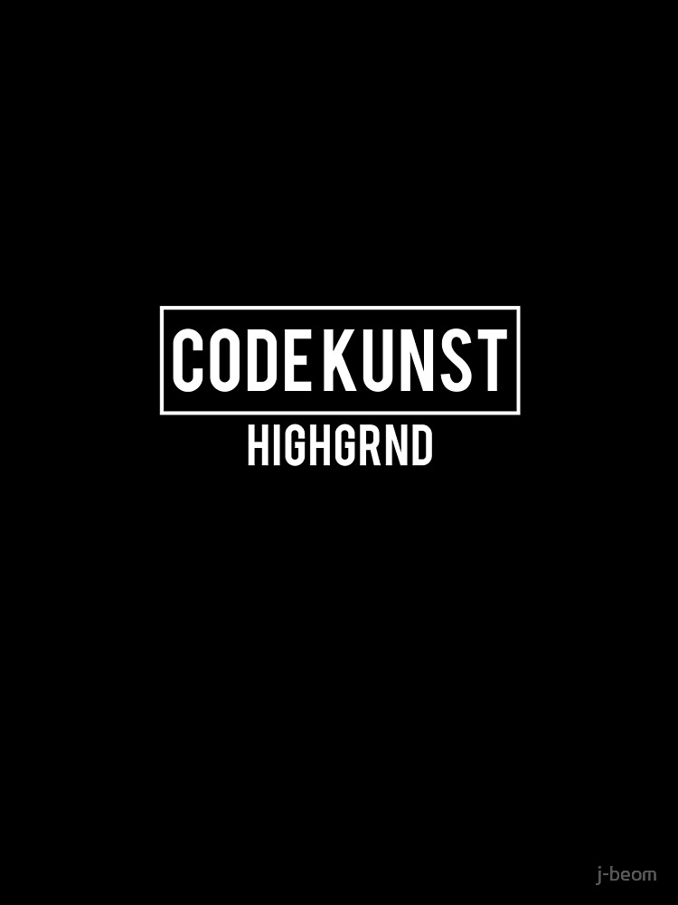 Highgrnd - Code Kunst by strdusts