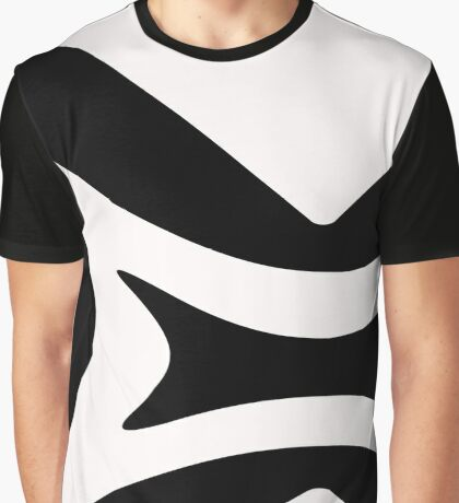 Design in Black and White by Julie Everhart Graphic T-Shirt