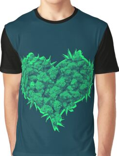 420 Heart Graphic T-Shirt