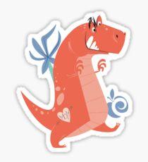 AC T-Rex Sticker Sticker