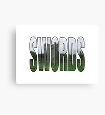 Swords Canvas Print