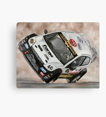 Pat Doran Ford Fiesta Canvas Print