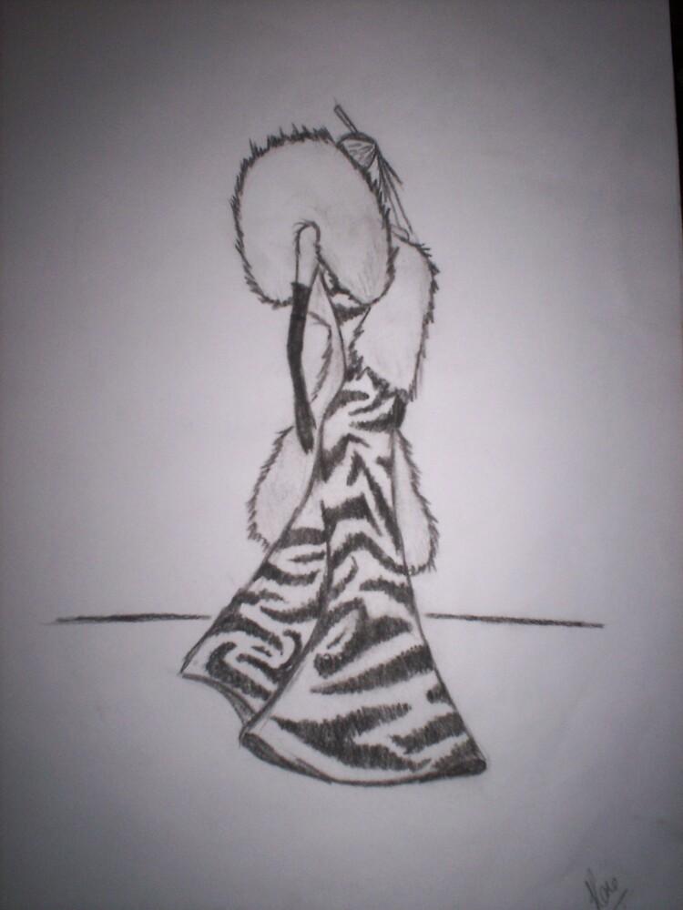 lady zebra lion mane by originalsin