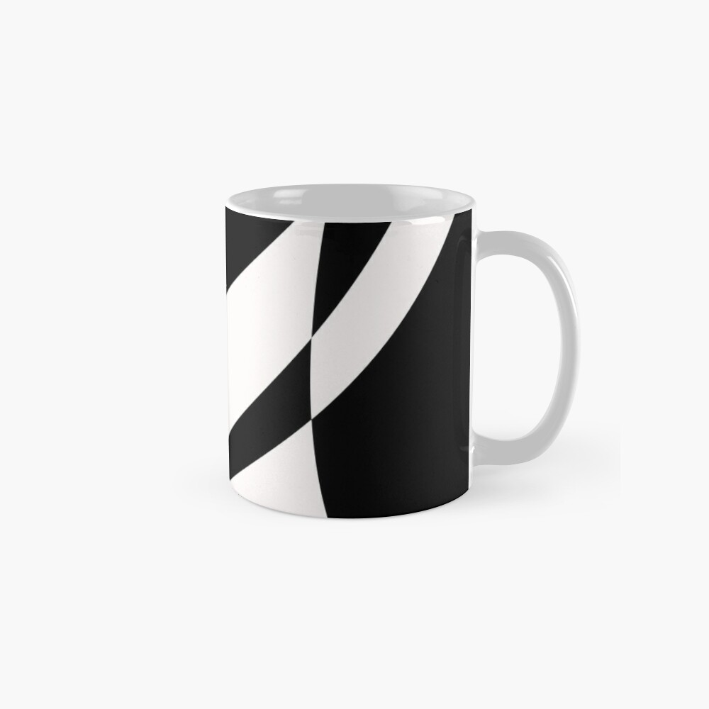 Black and White with a Twist by Julie Everhart Mug