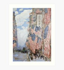 Childe Hassam - The Fourth Of July, 1916 Art Print