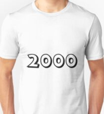 The Year 2000 Unisex T-Shirt
