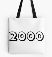 The Year 2000 Tote Bag