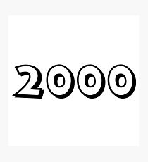 The Year 2000 Photographic Print