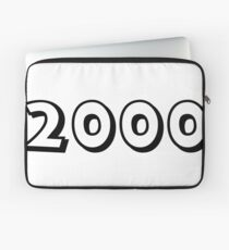 The Year 2000 Laptop Sleeve