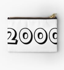 The Year 2000 Studio Pouch