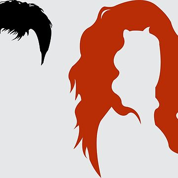Minimalist Will & Grace by adamxgrey