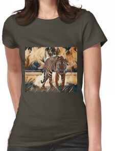 The Bengal Tiger Womens Fitted T-Shirt