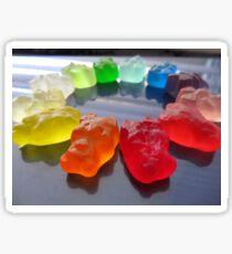Rainbow Bears Sticker