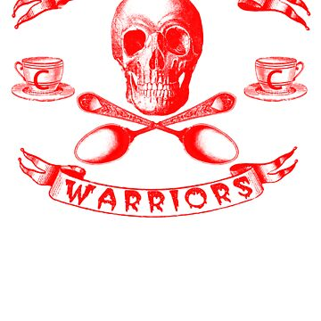 Red Cappucino Warrior by stevyweevy