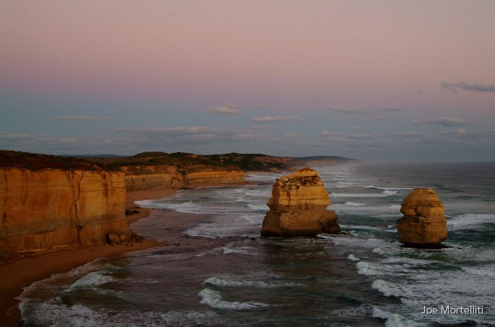 Twilight Twelve Apostles,Great Ocean Rd by Joe Mortelliti