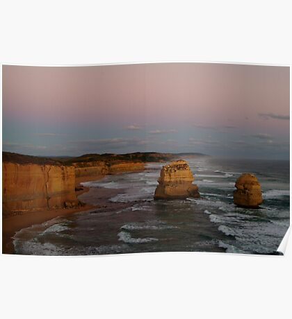 Twilight Twelve Apostles,Great Ocean Rd Poster