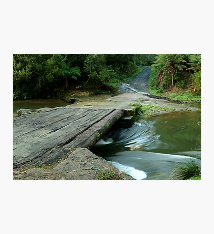Aire Crossing Otway Ranges Photographic Print