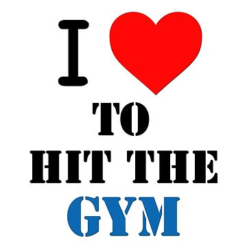 I love to hit the gym by TitaniumCrab