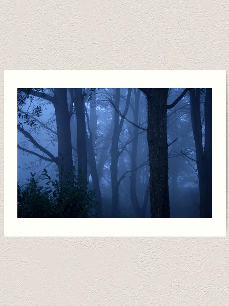 Alternate view of Blue mist Art Print