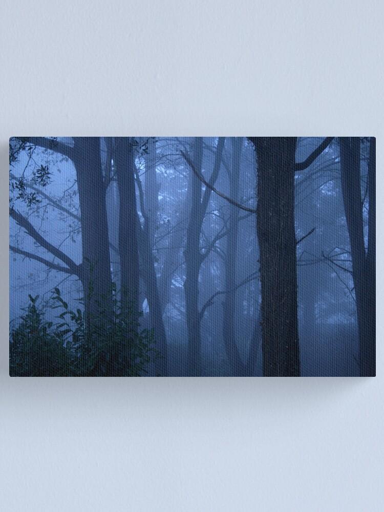 Alternate view of Blue mist Canvas Print