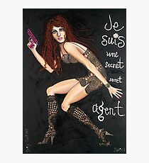 Secret Agent Photographic Print