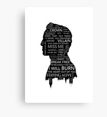 Jim Moriarty • Sherlock BBC Canvas Print