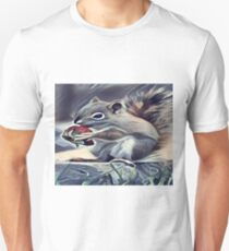 Squirrel Eating a Berry T-Shirt