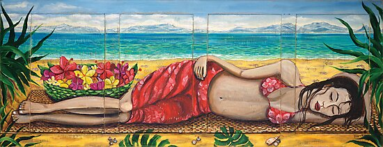 Sleeping Girl by Sarina Tomchin