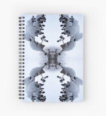 Snow Bow #1 Spiral Notebook