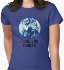 There is no Planet B Women's Fitted T-Shirt