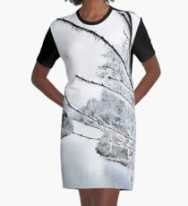 Frost Graphic T-Shirt Dress