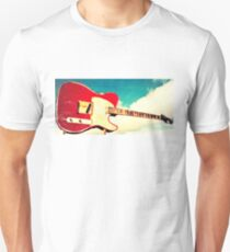 Red Tele in the Sky Unisex T-Shirt