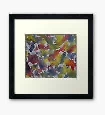 RBY Watercolor Framed Print