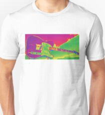 Fire Tele in the Sky Unisex T-Shirt