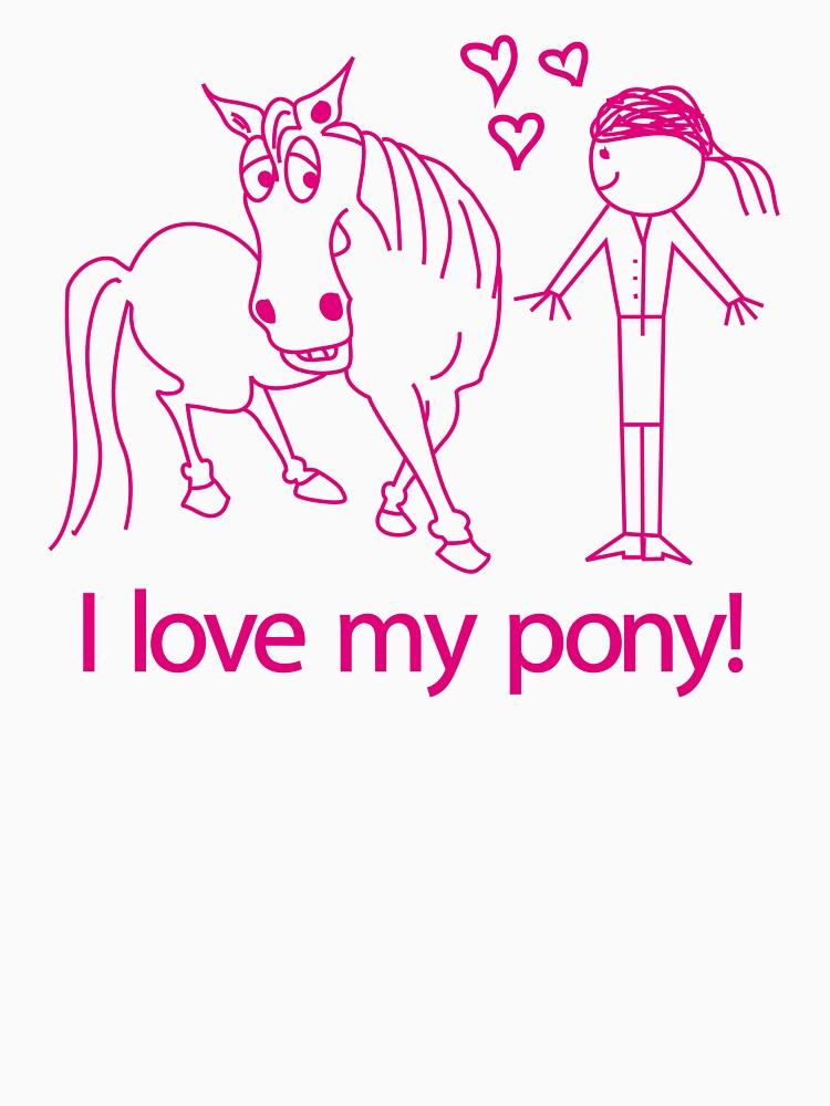 I love my pony! © iwantapony by andyzoot